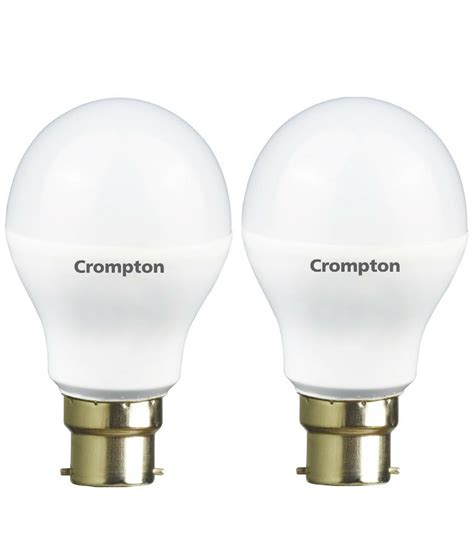 crompton greaves 7w pack of 2 led bulbs cool buy