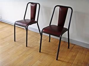 Chaise Vintage Cuir : chaise vintage tolix jpg chaises tabourets lampes luminaires eclairages ~ Teatrodelosmanantiales.com Idées de Décoration