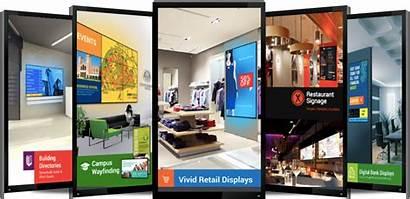 Digital Signage Banner Solutions Creative Electronics Visual