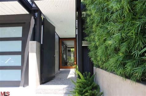 mid century house atrium entry cool modern ideas mid