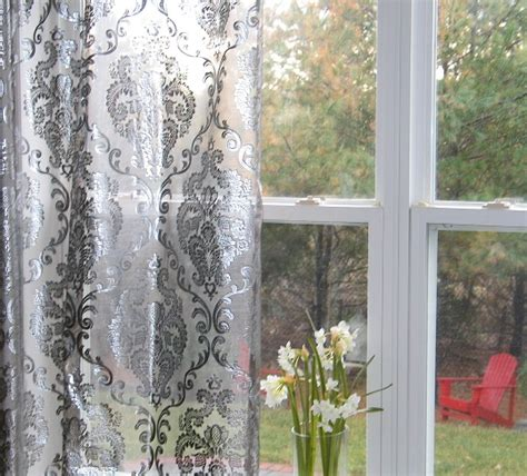 silver sheer curtains quotes