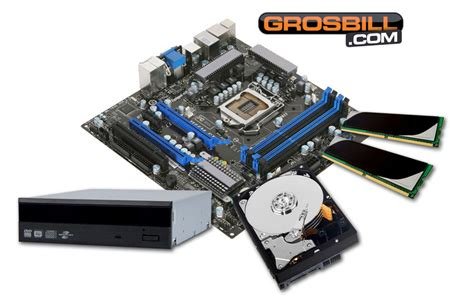 grosbill kit pc 224 monter small intel pentium dual g840 achat ordinateur de bureau grosbill