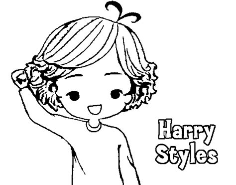 Kleurplaten One Direction Niall.Harry Styles One Direction Free Coloring Pages