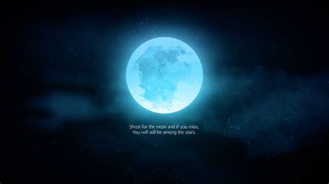 wallpaper moon stars popular quotes inspirational