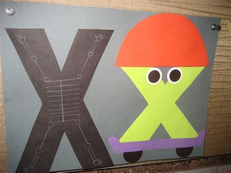 letter x crafts preschool and kindergarten 212 | Letter X activities