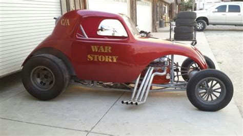 Fiat Drag Car by Fiat Topolino Drag Car Gasser Altered Rod Rat Rod Barn