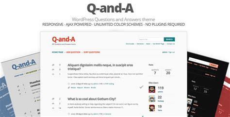 question  answer wordpress themes plugins