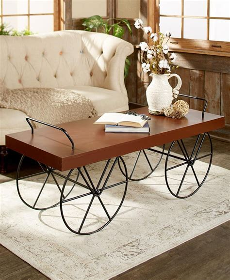 Take a stack of books (books are your best friend when you are figuring out how to decorate your coffee table). Decorative Cart-Style Coffee Tables   Contemporary glass ...