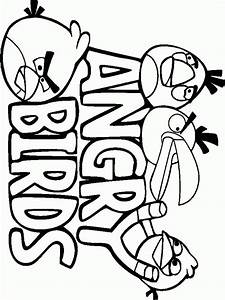 Kids Page  Angry Birds Coloring Pages
