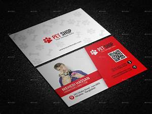 pet shop business card by mehedi hassan graphicriver With pet store business cards