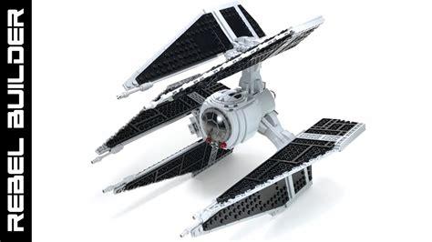 updated tie defender lego star wars moc instructions