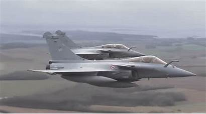 Dassault Rafale Fighter Rain Aircraft Military Titanium