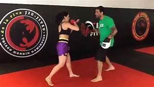 Bella Falconi - Kick Boxing - YouTube