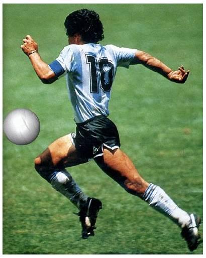 Maradona Diego Armando Football Gifer Animated Futbol