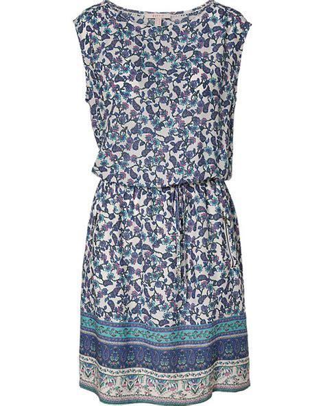 ESPRIT, Kleid, blau ambellis