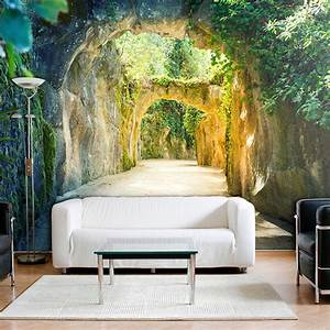 Tapeten Im Schlafzimmer : vlies fototapete 3d tunnel tapete tapeten schlafzimmer wandbild xxl fob0065 gestaltung ~ Sanjose-hotels-ca.com Haus und Dekorationen