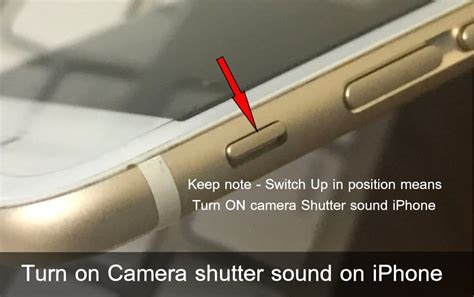 how to turn iphone sound how to turn on shutter sound on iphone complete