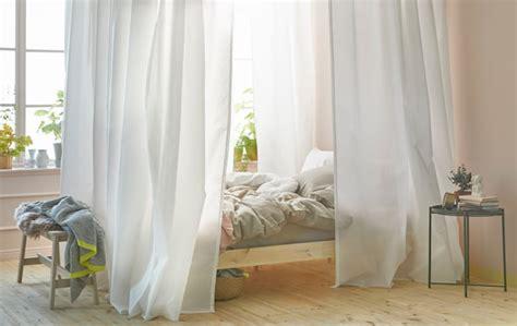 tende per letto a baldacchino un letto a baldacchino in 5 mosse ikea