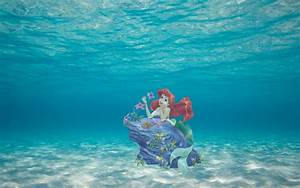 Ariel Submerged - The Little Mermaid Wallpaper (38788836 ...