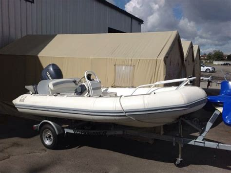 Inflatable Boats Richmond Bc by Sold Zodiac 14 430 Yachtline Dueck Marine