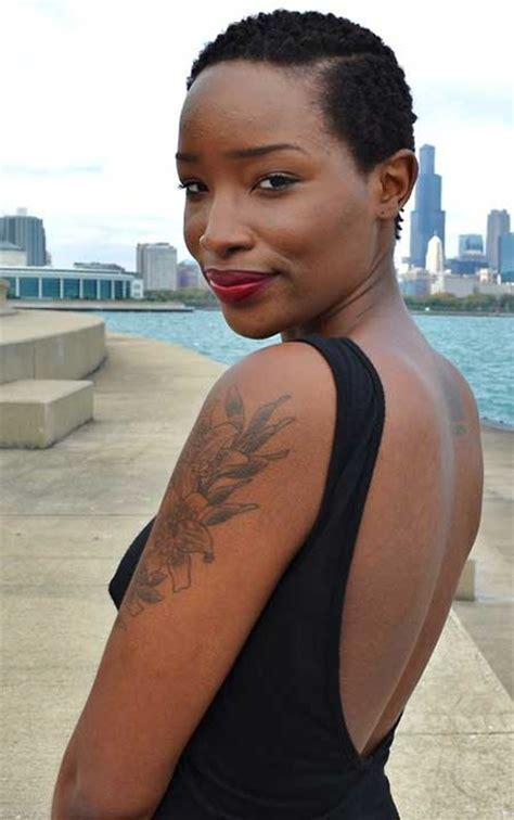 25 Super Short Haircuts for Black Women   Short Hairstyles
