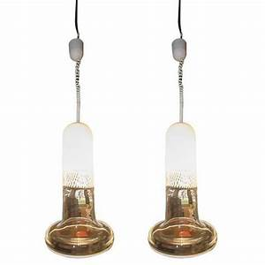 Mid century murano glass ceiling lamps by veart s