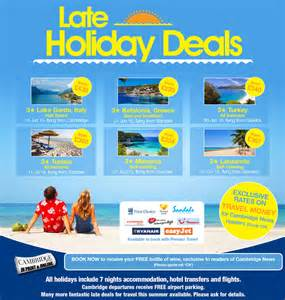 premier travel late deals