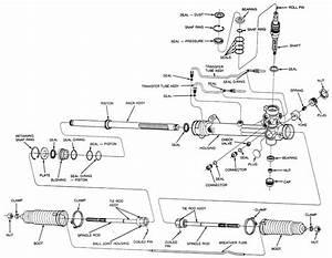 Toyota Rack Pinion Diagram
