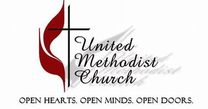 Methodist United Cross Flame Church Hands Praying