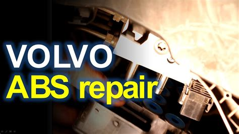 abs repair volvo  youtube