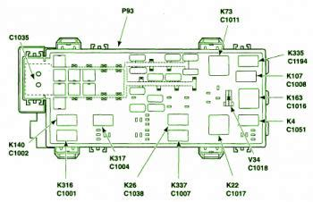 06 Ford Ranger Fuse Box Diagram by 2003 Ford Ranger Battery Junction Fuse Box Diagram