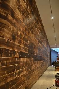 Shou Sugi Ban : shou sugi ban feature wall black rabbit ~ Zukunftsfamilie.com Idées de Décoration
