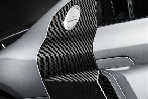 audi  competition carbon fiber side blade detail