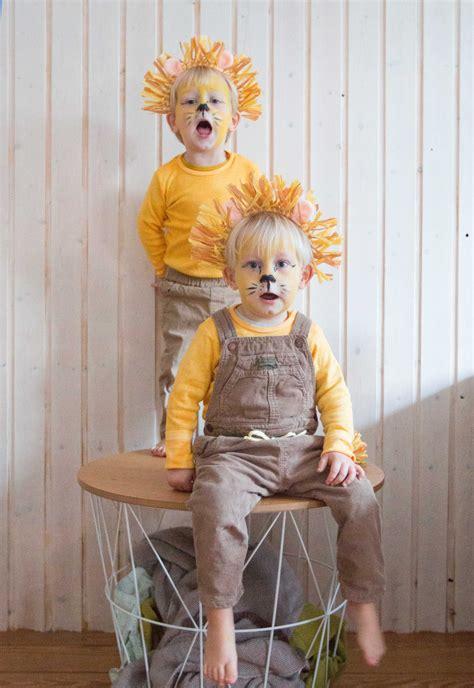 faschingskostüm last minute meine l 246 wen ein last minute kost 252 m f 252 r kinder karneval carnival costumes diy costumes for