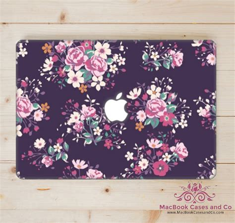 beautifully floral macbook case macbookcasesandco
