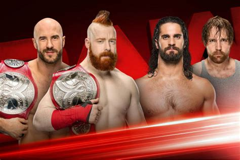 Rumour: Big title change to happen on tonight's WWE Raw