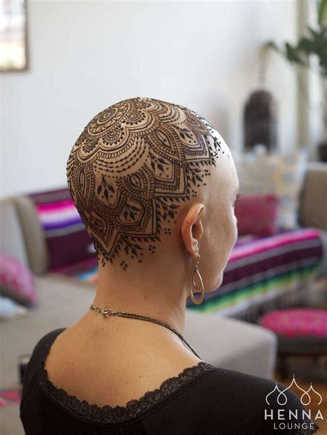 henna crowns  chemotherapy patients  alopecia