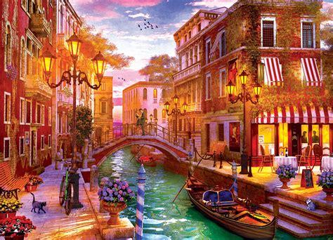 Jigsaw Puzzle Sunset Over Venice 1000 Piece
