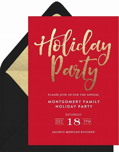 Holiday Party Invitations Clipart Invitation Simple Invite