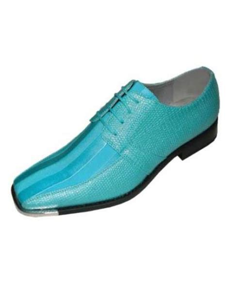 light blue dress shoes mens mens turquoise light blue stage party classic oxford