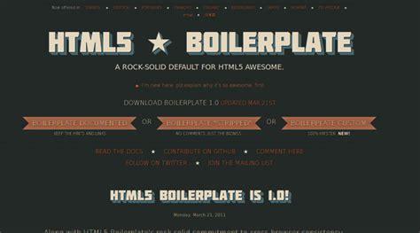 boilerplate template 7 boilerplates templates resets for a fresh start