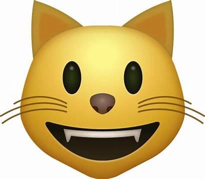 Emoji Cat Apple Smiling Ios Face Transparent