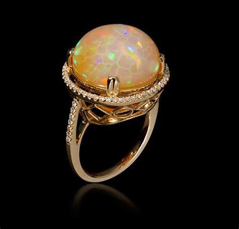 ethiopian opal beautiful engagement ring dream wedding