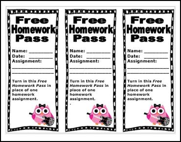 homework pass template free homework pass cliparts free clip free clip on clipart library