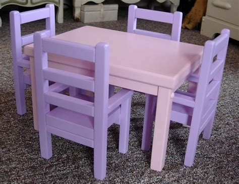 american doll kitchen table kitchen table and chairs for american by