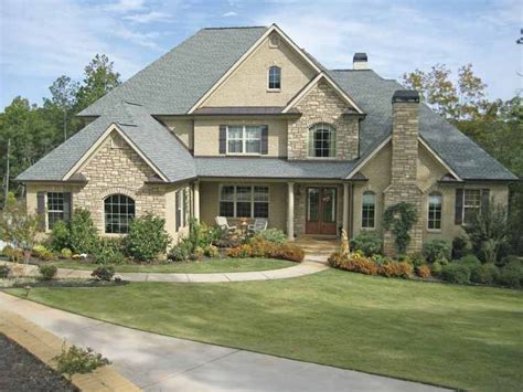 american house plan   square feet