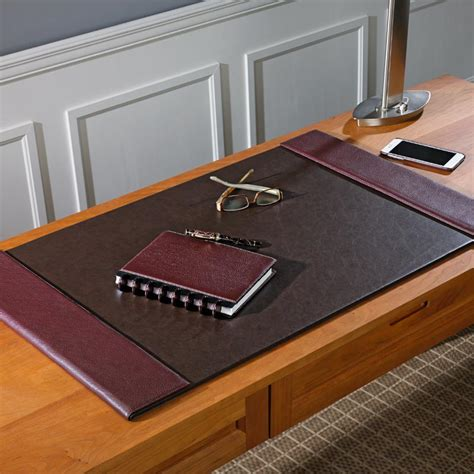 Leather Desk Blotter Pads by Bomber Jacket Oversized Desk Pad Leather Desk Pad Desk