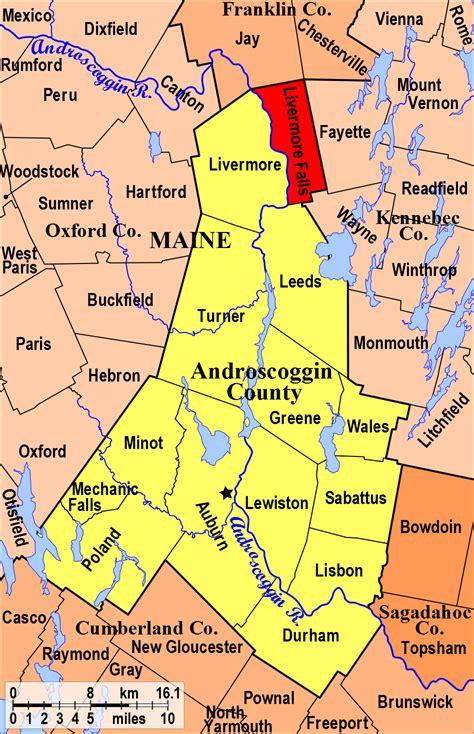 livermore falls androscoggin county maine genealogy