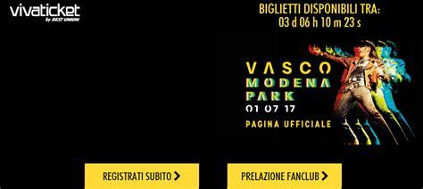 Fans Club Vasco by Istruzioni Prevendita Fan Club Vasco Sito