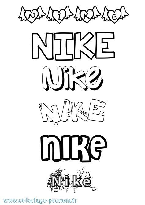 Dessin A Imprimer Nike